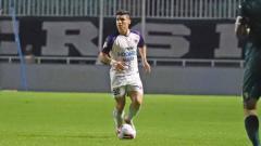 Indosport - Mateo Bustos, pemain asing Persita Tangerang.