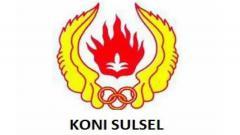 Indosport - Logo KONI Sulawesi Selatan.