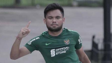 Pemain andalan Timnas Indonesia, Saddil Ramdani, ditetapkan sebagai tersangka karena menganiaya gerombolan pemabuk yang menghina ibunya. - INDOSPORT