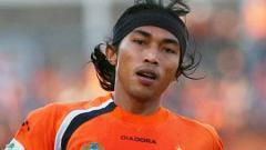 Indosport - Aliyudin, salah satu legenda Persija Jakarta.