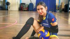 Indosport - Yolla Yuliana, atlet Voli wanita Indonesia