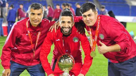 Berikut ada bentuk transformasi eks Persebaya Surabaya Manuchekher Dzhalilov yang kian tajam di Liga Tajikistan bersama FC Istiklol. - INDOSPORT