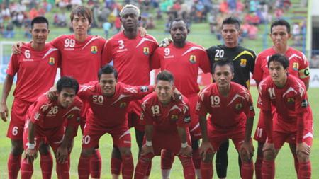Persema berhasil memastikan diri terhindar dari zona degradasi, pasca kemenangan 1-0 atas Bontang FC pada pekan ke-31 kompetisi ISL. - INDOSPORT