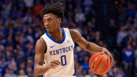 Ashton Hagans, pebasket dari tim Kentucky Wildcats pastikan masuk NBA Drafts. - INDOSPORT