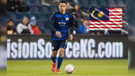 Pesaing Evan Dimas, Malaysia Punya Gelandang yang Tembus Kompetisi MLS - INDOSPORT