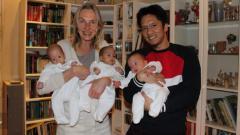Indosport - Ary Trisnanto, mantan pebulutangkis yang menikahi wanita Jerman.