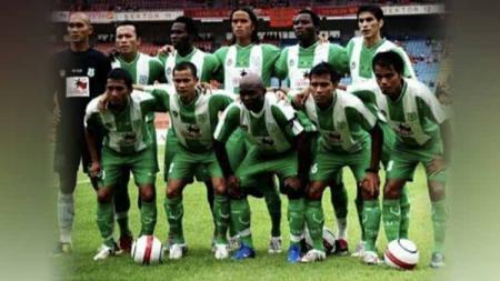 PSMS Medan adalah salah satu klub besar yang memiliki catatan sejarah ciamik dalam kancah persepak bolaan Indonesia, termasuk di Divisi Utama 2007. - INDOSPORT