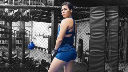 Petarung MMA, Rachael Ostovich. - INDOSPORT