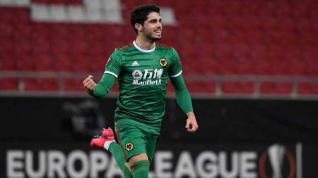 Pedro Neto, pemain Wolverhampton Wanderers. - INDOSPORT