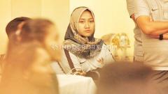 Indosport - Fisioterapis timnas Indonesia putri, Lulu Indah Prawira.