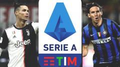 Indosport - Pantaskah Serie A Italia Jadi Panggung Utama Kembalinya Rivalitas Panas Messi vs Ronaldo?