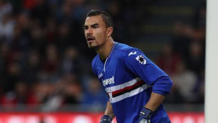 Meski kebobolan tiga kali, Emil Audero sempat melakukan penyelamatan gemilang saat Sampdoria berhadapan dengan Juventus di Serie A Liga Italia 2020/21. - INDOSPORT