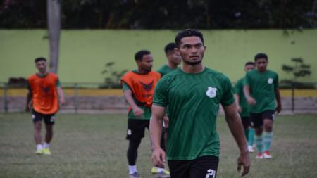 Pemain PSMS Medan Liga 2 2020, Azka Fauzi. - INDOSPORT