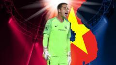 Indosport - Andritany Ardhiyasa akan punya pesaing dalam level Asia Tenggara, sebab ada calon kiper naturalisasi Vietnam yang mentas di kasta tertinggi Liga Eropa.