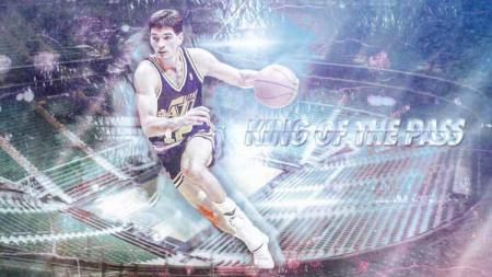 Legenda NBA, John Houston Stockton. - INDOSPORT