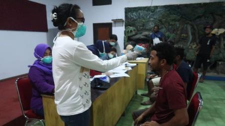 Skuat Persewar menjalani pemeriksaan kesehatan - INDOSPORT