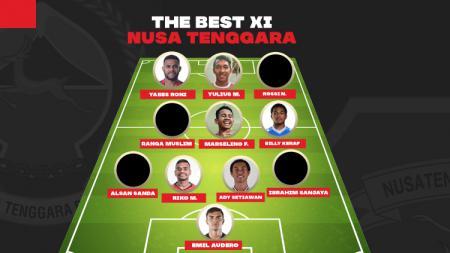 INDOSPORT mencoba mengupas deretan para pemain dari Nusa Tenggara yang bisa dijadikan The Dream Team andai menjadi satu tim. - INDOSPORT