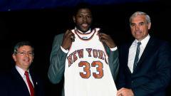 Indosport - Patrick Ewing, salah satu center terbaik dalam sejarah NBA yang dikenal sebagai legenda New York Knicks