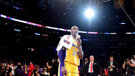 Laga terakhir Kobe Bryant bersama LA Lakers berlangsung di Staples Center.