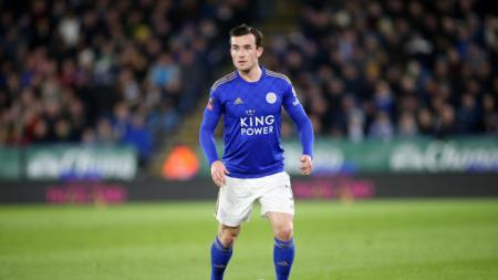 Berminat datangkan Ben Chilwell dari Leicester City, Ole Gunnar Solskjaer siap depak Luke Shaw dari skuat Manchester United. - INDOSPORT