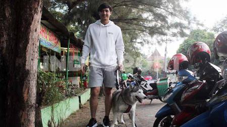 Bomber muda Persita Tangerang, Chandra Waskito. - INDOSPORT
