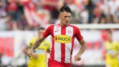 Indosport - Pemain asal Hungaria milik RB Salzburg, Dominik Szoboszlai.