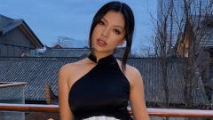 Indosport - Lily Muni He, pegolf seksi asal China.