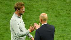 Indosport - Jurgen Klopp menegaskan jika dirinya ingin Real Madrid merasakan Liverpool yang sebenarnya dalam laga leg kedua babak perempatfinal Liga Champions 2020/21.