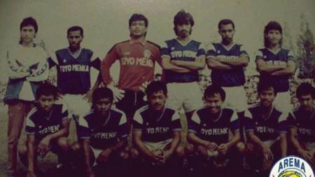 Arema saat juara Liga Galatama 1993. - INDOSPORT