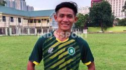 Pemain PSM Makassar dan mantan pemain PSMS Medan, Firza Andika.