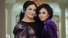Indosport - Krisdayanti dan Yuni Shara