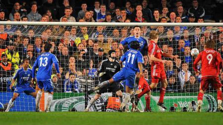 Chelsea vs Liverpool di Liga Champions 2007/2008. - INDOSPORT
