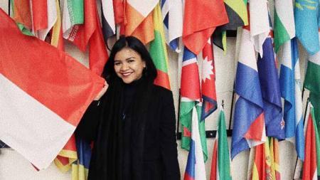 Chief Operating Officer (COO) Madura United, Annisa Zhafarina. - INDOSPORT