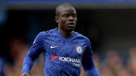 Gelandang muslim berkebangsaan Prancis milik klub Liga Inggris Chelsea NGolo Kante. - INDOSPORT