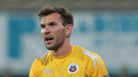 Striker milik klub Serie B Italia AS Cittadella Luca Strizzolo. - INDOSPORT