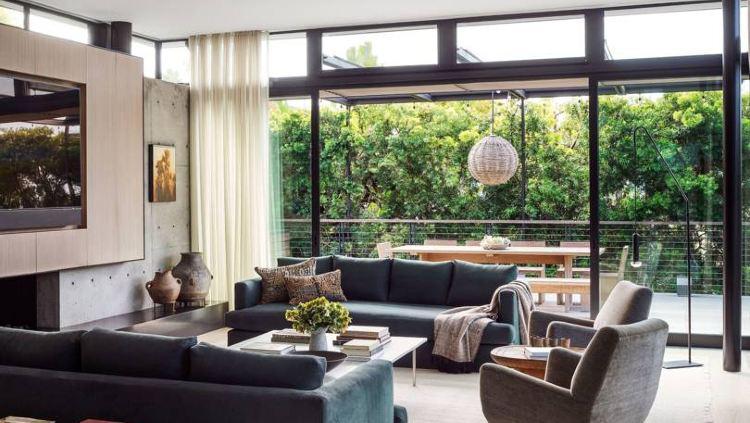 Maria Sharapova mengaku desain rumahnya terinspirasi dari gaya Jepang. Copyright: Douglas Friedman/Architectural Digest