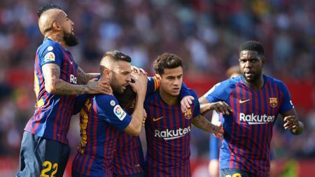 Barcelona ajukan dua syarat menggiurkan kala buang Philippe Coutinho ke Tottenham Hotspur. - INDOSPORT