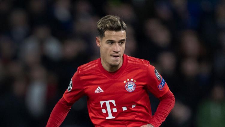Pemain pinjaman klub Bundesliga Jerman Bayern Munchen Philippe Coutinho (Brasil). Copyright: Visionhaus/Getty Images