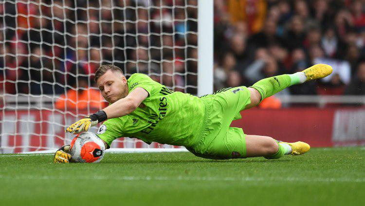 Kiper klub Liga Inggris, Arsenal, Bernd Leno. Copyright: David Price/GettyImages