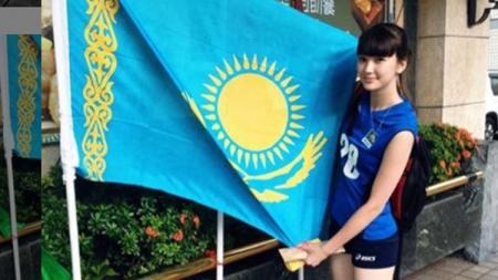 Atlet voli putri asal Kazakhstan, Sabina Altynbekova. - INDOSPORT