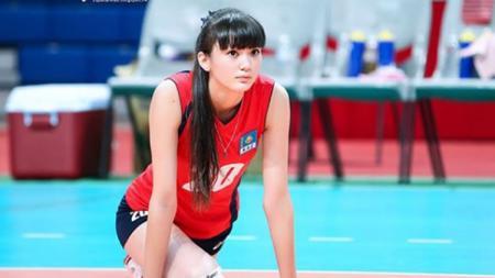 Atlet voli asal Kazakhstan, Sabina Altynbekova. - INDOSPORT