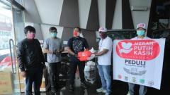 Indosport - Koordinatoriat PSSI Pers kembali menggelar aksi sosial