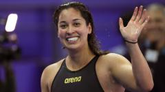 Indosport - Ranomi Kromowidjojo, atlet renang blasteran Belanda-Jawa, meraih peringkat empat di nomor 50 meter gaya bebas putri Olimpiade Tokyo 2020, Minggu (01/08/21).