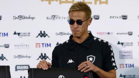 Pemain Botafogo, Keisuke Honda, yang memiliki banyak bisnis di luar sepak bola. - INDOSPORT