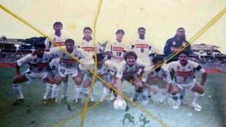 Skuat Mataram Indocement musim 1995-1996. - INDOSPORT