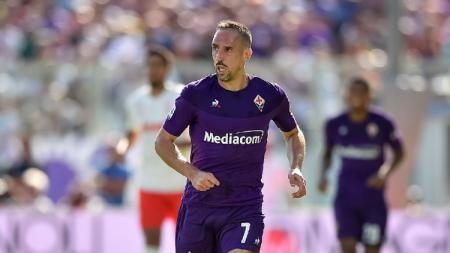 Frank Ribery secara resmi mengakhiri petualangannya bersama Fiorentina. - INDOSPORT