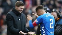 Indosport - Legenda Liverpool, Steven Gerrard, yang kini melatih klub Skotlandia, Rangers FC.