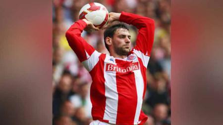 Mengenang sosok Rory Delap dari Stoke City yang dijuluki David Beckham dalam urusan lemparan ke dalam di Liga Inggris - INDOSPORT
