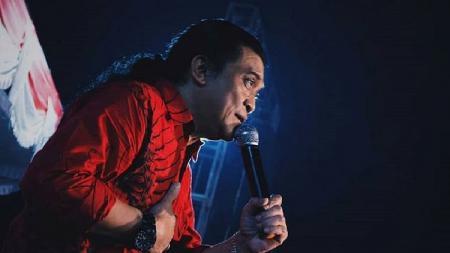 Penyanyi campursari Indonesia Didi Kempot alias The Godfather of The Broken Heart. - INDOSPORT