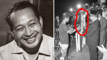 Di Indonesia pernah ada turnamen sepak bola Piala Soeharto, yang gengsinya bahkan melebihi kompetisi Liga Perserikatan di era PSSI kepemimpinan Bardosono. - INDOSPORT